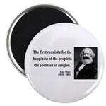 Karl Marx 3 Magnet