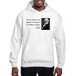 Karl Marx 3 Hooded Sweatshirt