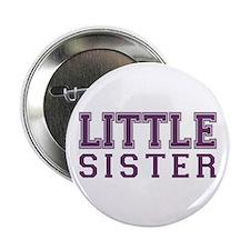 little sister varsity Button