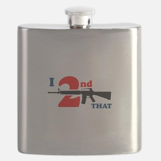 Second Amendment Flask