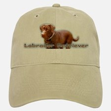 Chocolate Lab Baseball Baseball Cap