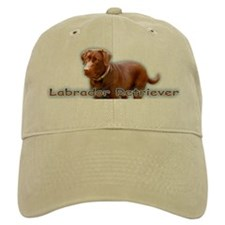 Chocolate Lab Baseball Cap