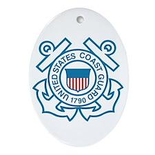 Coast Guard Oval Ornament