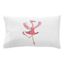 Ballerina Flamingo Pillow Case