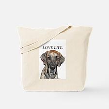 Great Dane Jamie Love Life Tote Bag