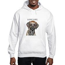 Great Dane Jamie Love Life Hoodie
