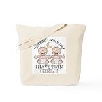 Twin Girls Tote Bag