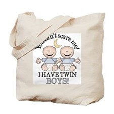 Twin Boys Tote Bag