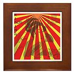 Rising Sun Framed Tile