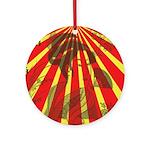 Rising Sun Ornament (Round)