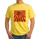 Rising Sun Yellow T-Shirt