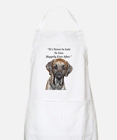 Great Dane Happily Ever After BBQ Apron