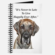 Great Dane Happily Ever After Journal
