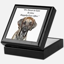 Great Dane Happily Ever After Keepsake Box