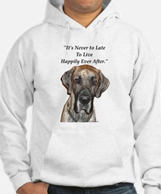 Great Dane Happily Ever After Hoodie