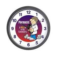 Cool Pharmacist Wall Clock