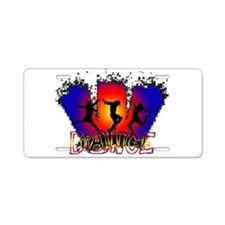 Dance Aluminum License Plate