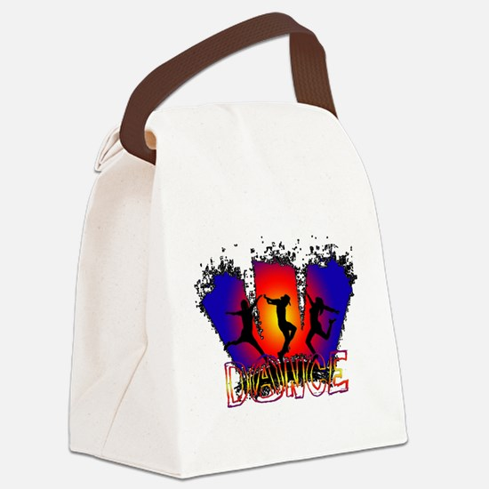 Dance Canvas Lunch Bag