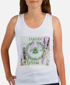 bee lavender french country Tank Top