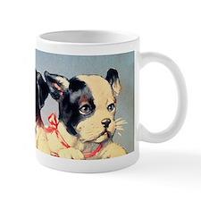 Vintage puppies illustration Mugs