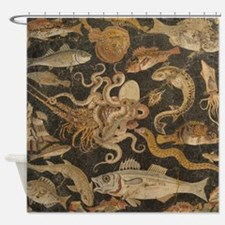Pompeii Mosaic Shower Curtain