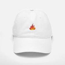 FIRE FLAMES Baseball Baseball Baseball Cap