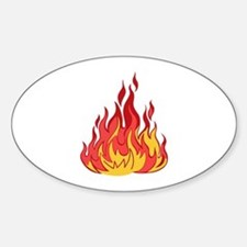 FIRE FLAMES Decal