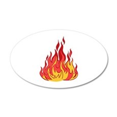FIRE FLAMES Wall Decal