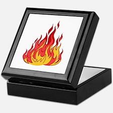 FIRE FLAMES Keepsake Box
