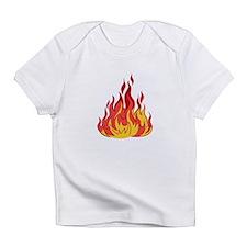 FIRE FLAMES Infant T-Shirt