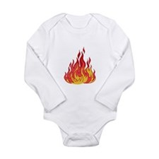 FIRE FLAMES Body Suit