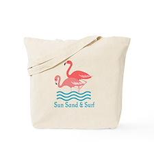SUN SAND AND SURF Tote Bag