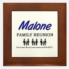 Malone Family Reunion Framed Tile
