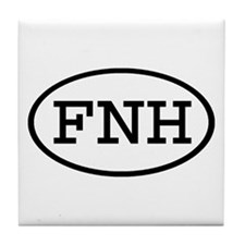 FNH Oval Tile Coaster