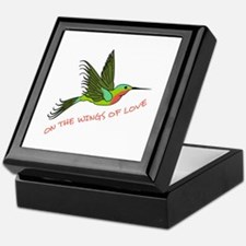 ON THE WINGS OF LOVE Keepsake Box