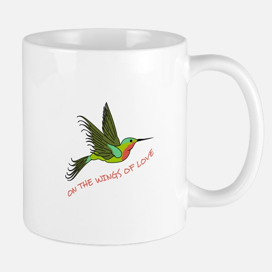 ON THE WINGS OF LOVE Mugs