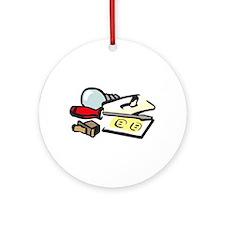 ELECTRICIAN LOGO Ornament (Round)
