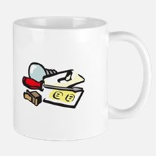 ELECTRICIAN LOGO Mugs