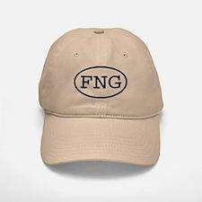FNG Oval Baseball Baseball Cap