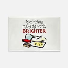 MAKE WORLD BRIGHTER Magnets
