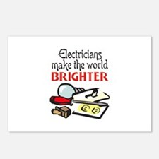 MAKE WORLD BRIGHTER Postcards (Package of 8)