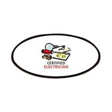 CERTIFIED ELECTRICIAN Patches