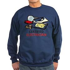 CERTIFIED ELECTRICIAN Sweatshirt