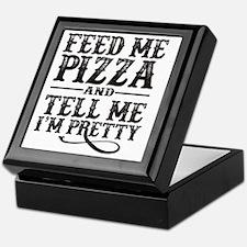Feed Me Pretty Keepsake Box