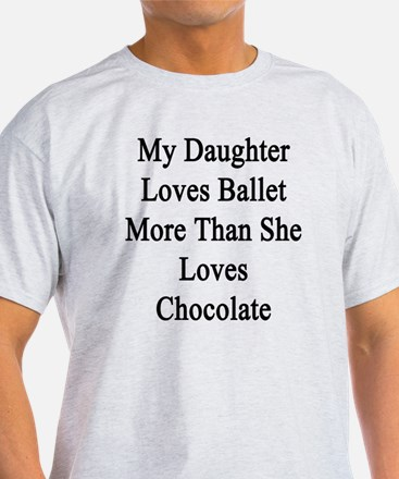 My Daughter Loves Ballet More Than S T-Shirt