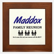 Maddox Family Reunion Framed Tile