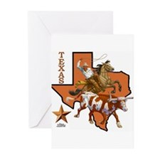 Funny Texas Greeting Cards (Pk of 20)