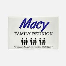 Macy Family Reunion Rectangle Magnet