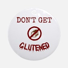Don't Get Glutened Ornament (round)
