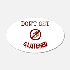 Don't Get Glutened Wall Decal